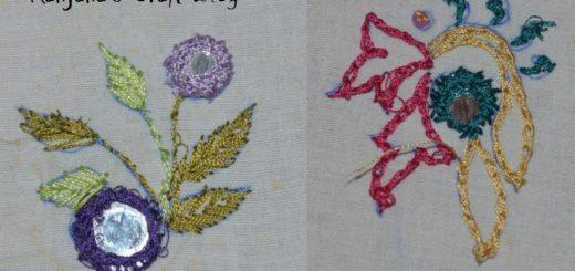 Mirror embroidery designs